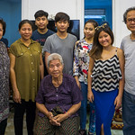 Arng Yon and her family - 4 survivors of the Genocide