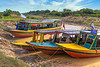 The floating villages of Tonle Sap, near Siem Reap, Cambodia, Asia.