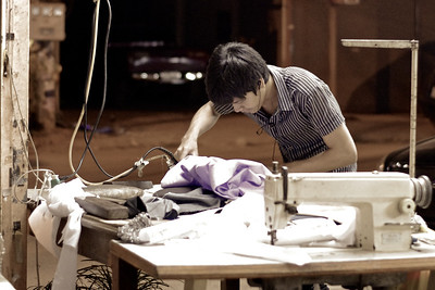 Tailor Working Late