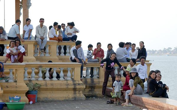 Tonle Sap waterfront