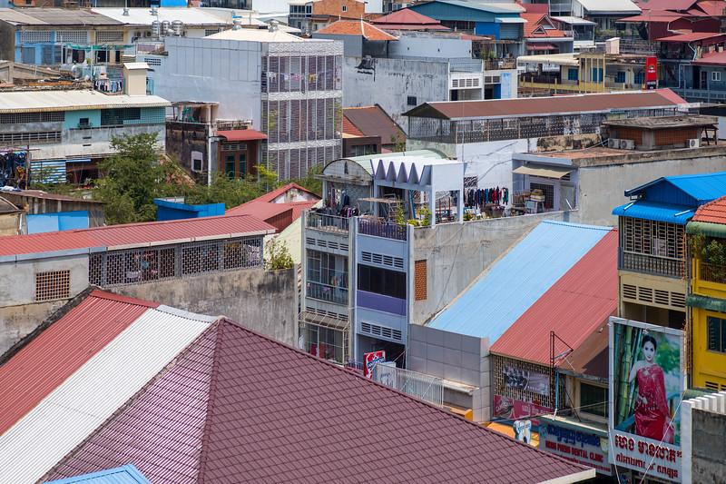 Rooftops of Phnom Penh