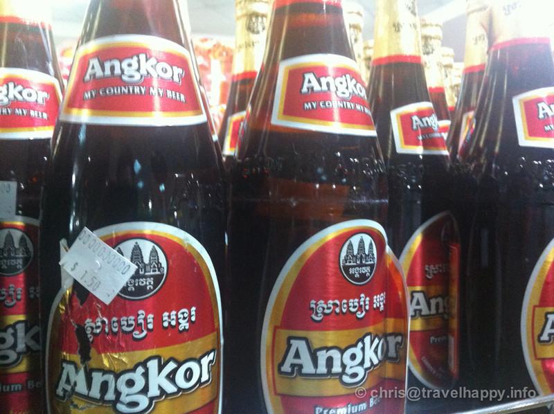 Angkor Beer, Cambodia