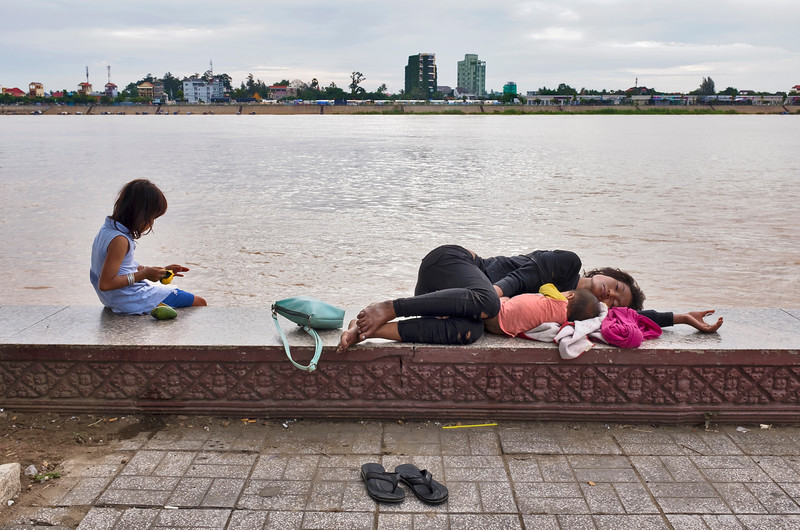 Mekong sleep