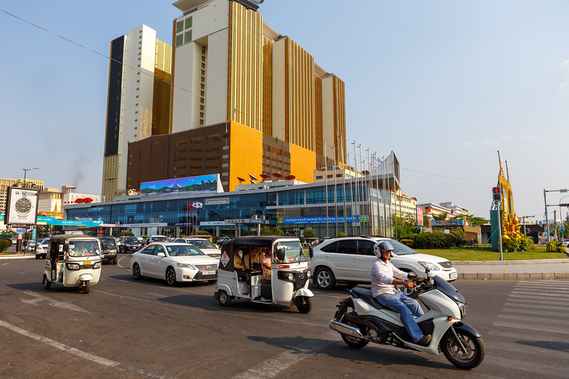 On the streets of Phnom Penh
