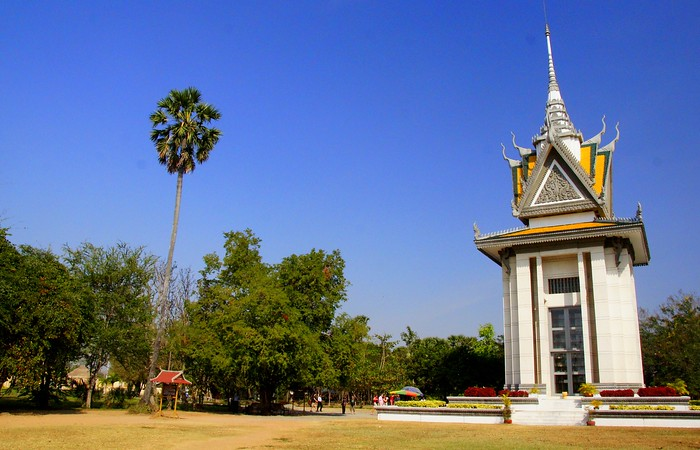 The Killing Fields (Choeung Ek) outside Phnom Penh, Cambodia.