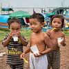 Chum children in the Mekong