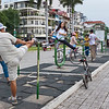 Morning exercise Phnom Penh