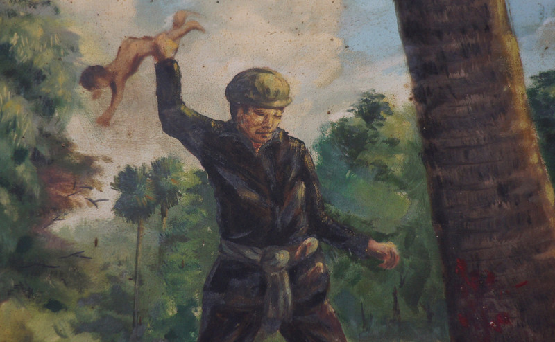 """The 'brutal' policies used by the Khmer Rouge included smashing babies heads against trees - Phnom Penh, Cambodia.  This is a travel photo from Phnom Penh, Cambodia. <a href=""""http://nomadicsamuel.com"""">http://nomadicsamuel.com</a>"""