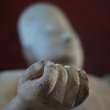 "Selective focus on the hand of a sculpture found at the National Museum - Phnom Penh, Cambodia.  This is a travel photo from Phnom Penh. <a href=""http://nomadicsamuel.com"">http://nomadicsamuel.com</a>"