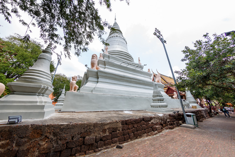 Wat Phnom - The main stupa