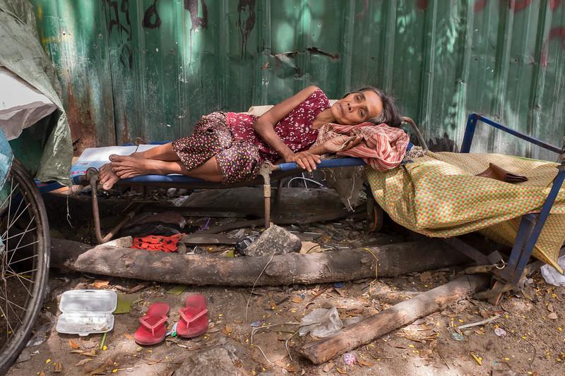 Phnom Penh poor