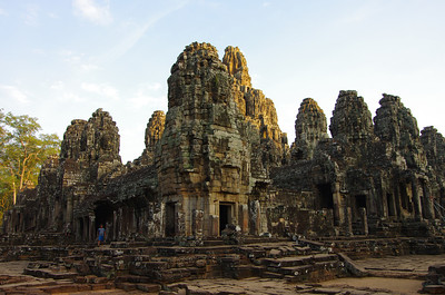 Ancient Khmer Temple in Angkor Wat