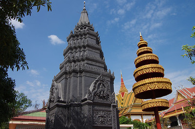 Wat Preah Ang in downtown Siem Reap