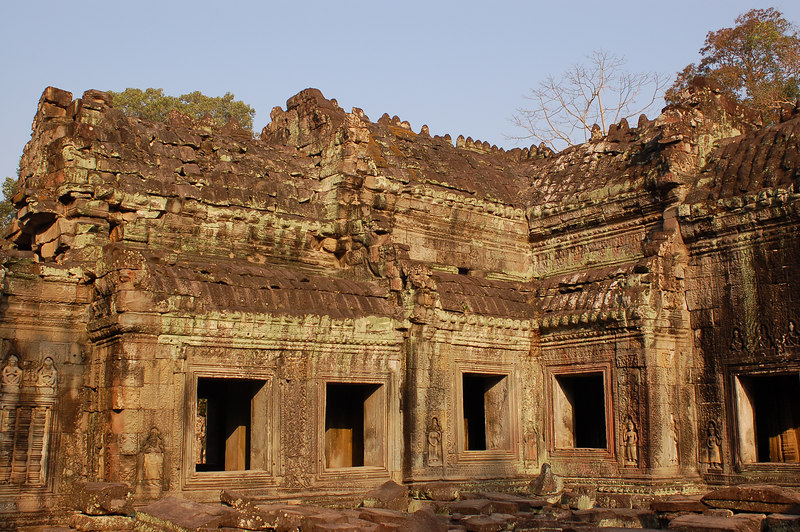 Morning light on Prasat Preah Khan