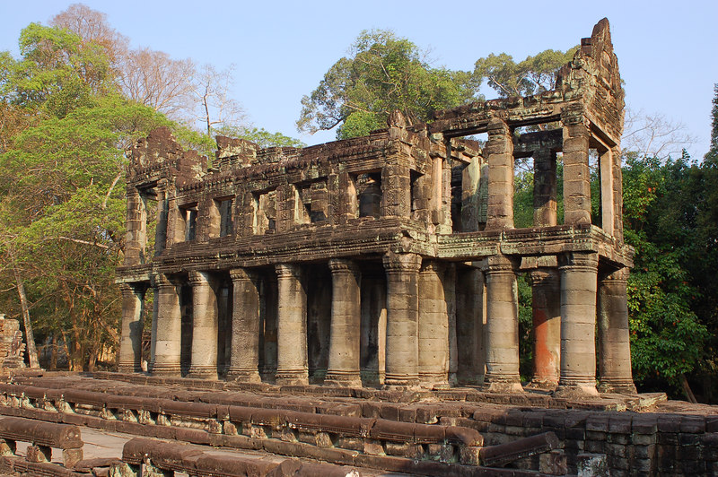 Greek influence at Prasat Preah Khan?