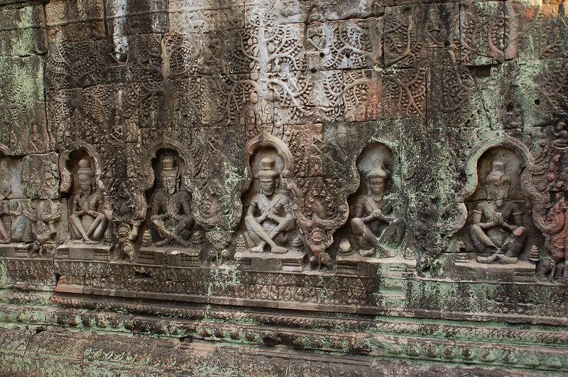 Carvings in Prasat Preah Khan