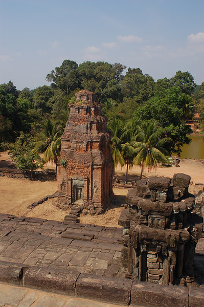 Bakong Temple viewed from its summit
