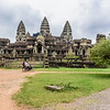 Motoring Past Angkor Wat