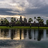 Sunrise Breaking Through Above Angkor Wat