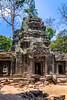 The Ta Prohm Temple near Siem Reap, Cambodia, Asia.