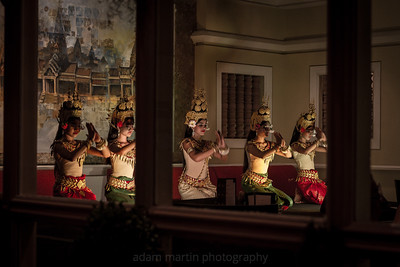 Dancers Performing at the Sofitel Hotel, Siem Reap