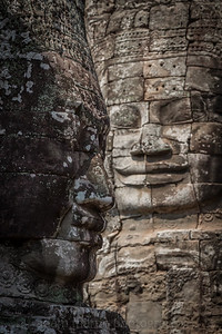 2 of the 54 Faces, Bayon
