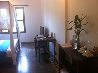 The 240 Hotel, Phnom Penh -  Room Interior - Desk and chair
