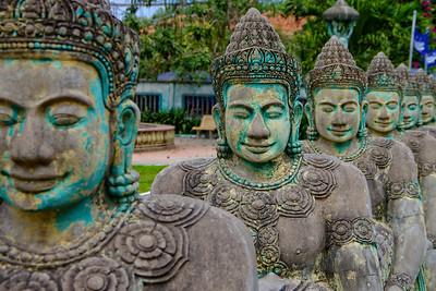Siem Reap Buddha Statues