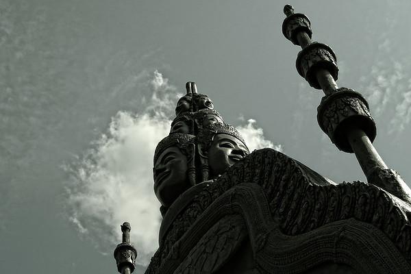 Wat Preah Ang in downtown Siem Reap