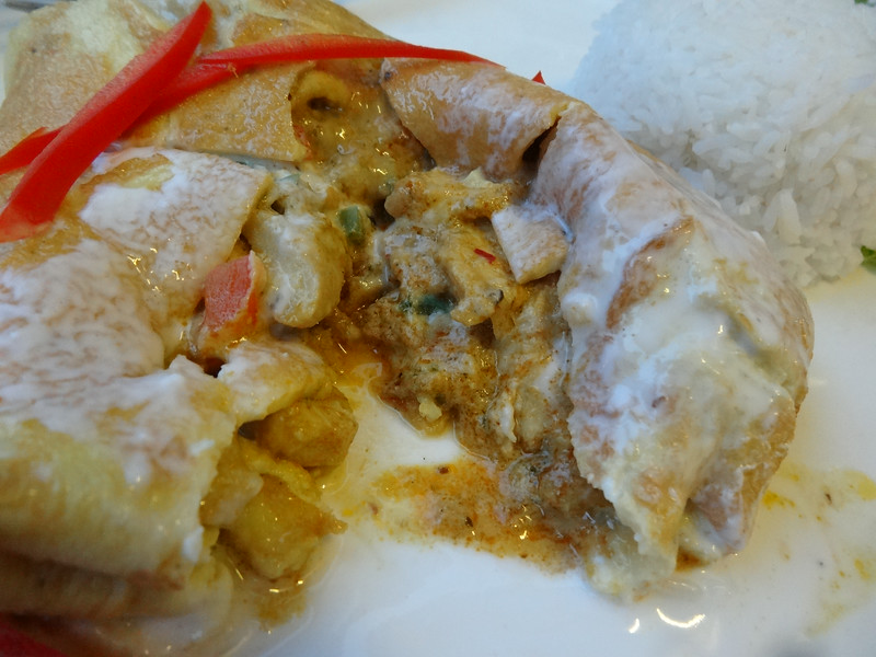 Curry pancake