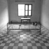 Torture beds at Tuol Sleng