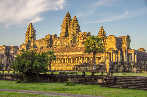 Ankor Wat After Sunrise, Cambodia