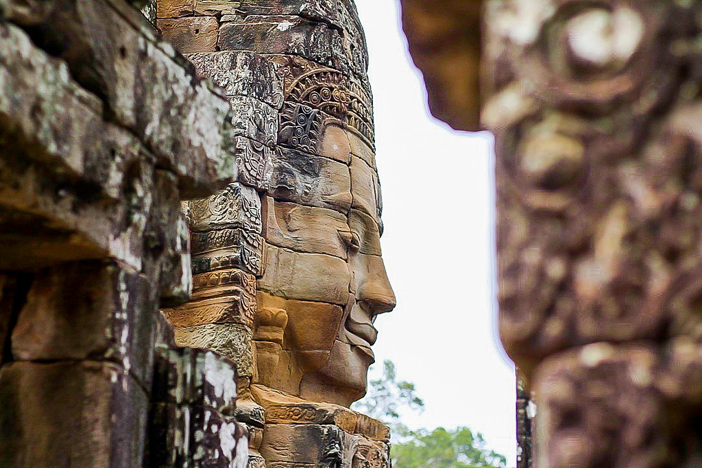 Things to do in Cambodia - Visit Bayon Temple in Siem Reap