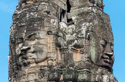 Stone Faces, Bayon Temple