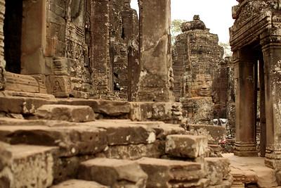 Angkor Thom, Bayon Temple, Angkor Archaeological Park, Krong Siem Reap, Cambodia
