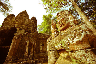 East gate of Angkor Thom
