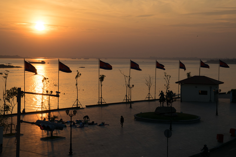 Mekong River, Phnom Penh