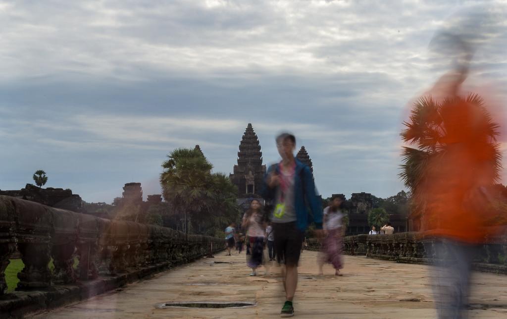 Invasion of Tourists