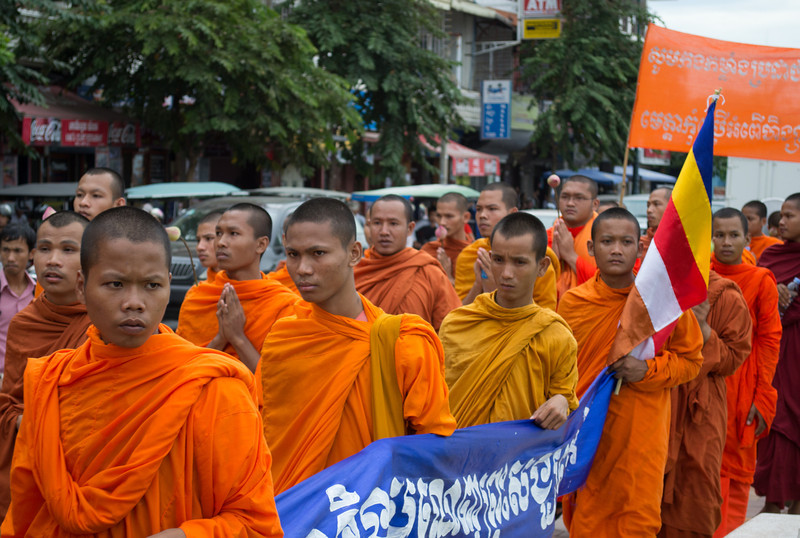 Phnom Penh Protest