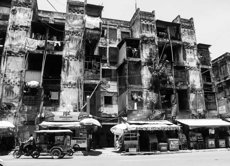 The White Building, Phnom Penh (now torn down)