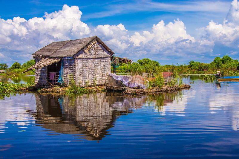 Floating Village on Tonle Sap, Cambodia