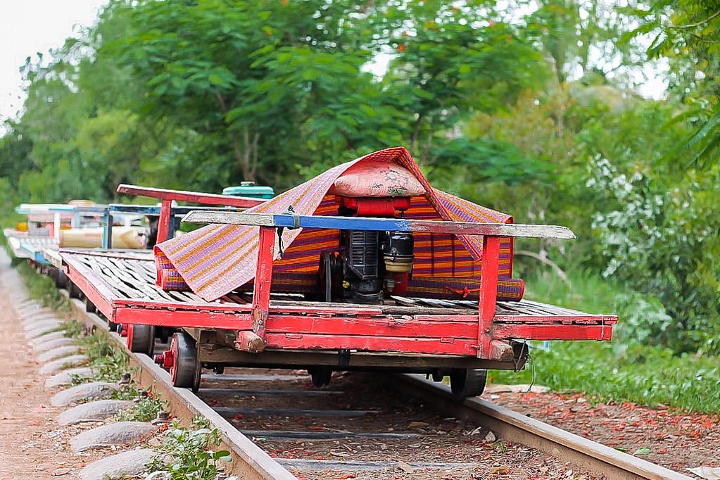 Bamboo Train in Battambang