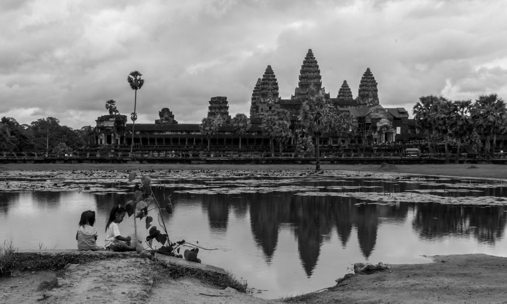 Angkor Wat Reflection Pool