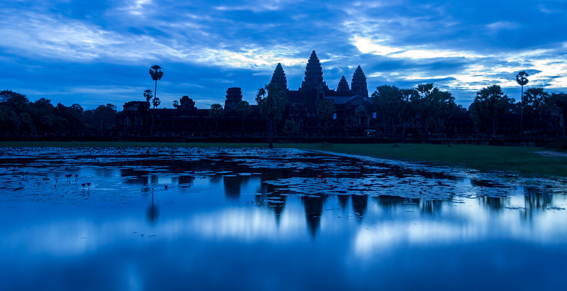 Twilight at Angkor Watt