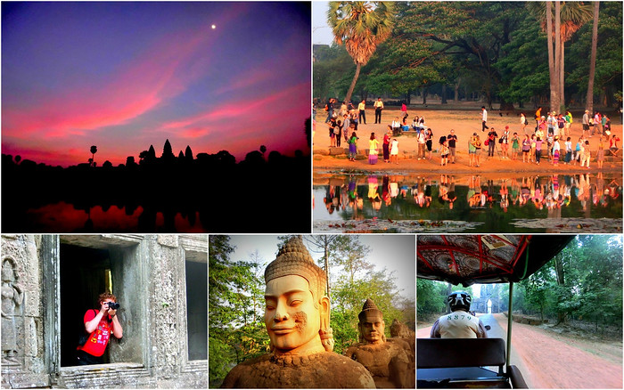 Visiting Siem Reap and the Temples of Angkor.