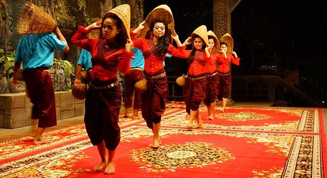 Apsara performance in Siem Reap, Cambodia