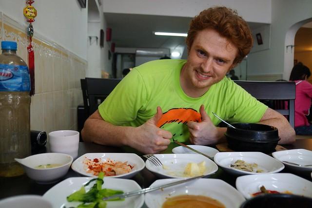 Korean food at Daebak in Siem Reap, Cambodia