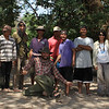 All of us at Koh Enchey camp during Frederick Goes and family visit