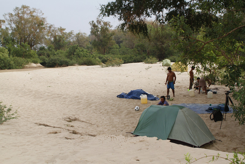 camp on Koh Enchey
