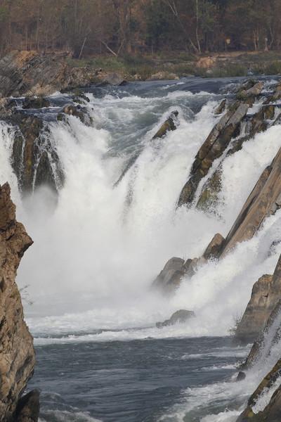 Khone Falls, Mekong River, Laos Border area